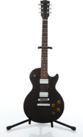Musical Instruments:Electric Guitars, 2004 Gibson Les Paul Standard Black Electric Guitar #02854399....