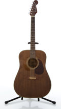 Musical Instruments:Acoustic Guitars, Fender Newporter Walnut Acoustic Guitar #A6617073....