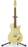 Musical Instruments:Electric Guitars, Danelectro Lime-Yellow Electric Guitar # N/A....