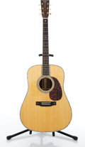 Musical Instruments:Acoustic Guitars, 2009 Martin D-42 Natural Acoustic Guitar #1416810....