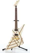 Musical Instruments:Electric Guitars, 1984 Gibson Explorer White Graphic Electric Guitar #81634554....