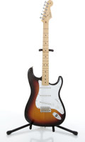 Musical Instruments:Electric Guitars, 2005/6 Fender American Stratocaster Sunburst Electric Guitar#Z5037661....