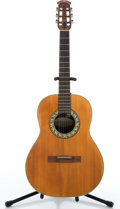 Musical Instruments:Acoustic Guitars, Ovation 1116-4 Natural Acoustic Guitar #012729....