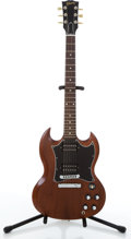 Musical Instruments:Electric Guitars, 2006 Gibson SG Natural Electric Guitar #027960471....