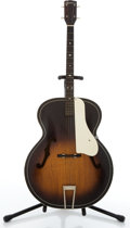 Musical Instruments:Acoustic Guitars, Vintage Harmony H1215 Sunburst Archtop Tenor Acoustic Guitar#4183H1215...