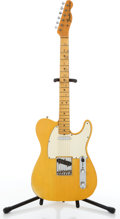 Musical Instruments:Electric Guitars, 1968 Fender American Telecaster Blonde Electric Guitar #233330....