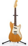 Musical Instruments:Electric Guitars, 1964 Fender 3/4 Natural Electric Guitar #L31438....