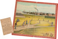 Baseball Collectibles:Others, 1886 Home Base Ball Game....