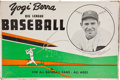Baseball Collectibles:Others, 1960's Yogi Berra Big League Baseball Game....