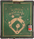 "Baseball Collectibles:Others, Circa 1930s Wonder Baseball Game"" - With Vintage Battery...."