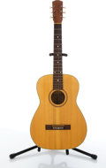 Musical Instruments:Electric Guitars, Vintage Goya F-11 Natural Acoustic Guitar #118309....