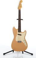 Musical Instruments:Electric Guitars, 1961 Fender Musicmaster Tan Electric Guitar # 56031....