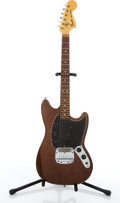 Musical Instruments:Electric Guitars, 1976 Fender Mustang Walnut Electric Guitar #7614839....