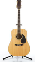 Musical Instruments:Acoustic Guitars, 1977 Takamine F-400S Natural 12-String Acoustic Guitar#77041203....