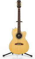 Musical Instruments:Electric Guitars, Epiphone Chet Atkins Natural Thin Electric Guitar #195505....