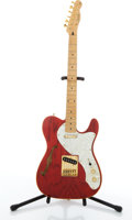 Musical Instruments:Electric Guitars, Squier By Fender Telecaster Red Electric Guitar #6125654....
