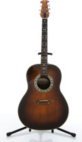 Musical Instruments:Acoustic Guitars, Ovations 1112-1 Sunburst Acoustic Guitar #031990....
