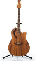 Musical Instruments:Acoustic Guitars, Ovation Celebrity CS347 Flame Top Acoustic Guitar # N/A....