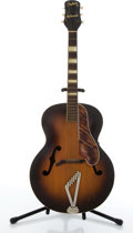 Musical Instruments:Acoustic Guitars, Vintage Gretsch Synchromatic Sunburst Archtop Acoustic Guitar #...