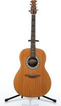 Musical Instruments:Acoustic Guitars, Ovation 1112-4 Natural Acoustic Guitar # 080814....