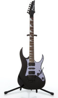 Musical Instruments:Electric Guitars, Ibanez RG450 Black Electric Guitar #6034990....