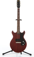 Musical Instruments:Electric Guitars, Vintage Gibson Melody Maker Cherry Electric Guitar #318804....