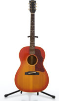 Musical Instruments:Acoustic Guitars, 1964 Gibson B-25 Cherry Burst Acoustic Guitar #228220....