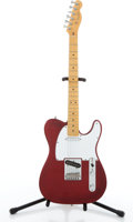Musical Instruments:Electric Guitars, 1995-96 Fender Telecaster 50th Anniversary Red Electric Guitar #N6120231....