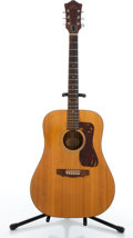 Musical Instruments:Acoustic Guitars, Circa 1971 Guild D-35 Natural Acoustic Guitar #54844....