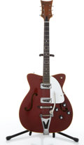 Musical Instruments:Electric Guitars, Vintage Martin GT-75 Burgundy Electric Guitar # 216935....