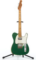 Musical Instruments:Electric Guitars, 1960-70's Fender Telecaster Green Project Electric Guitar #N/A....