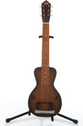 Musical Instruments:Lap Steel Guitars, Vintage Oahu Sunburst Lap Steel Guitar # N/A....