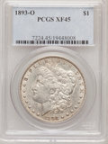 Morgan Dollars: , 1893-O $1 XF45 PCGS. PCGS Population (271/1763). NGC Census:(165/1358). Mintage: 300,000. Numismedia Wsl. Price for proble...