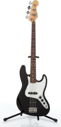 Musical Instruments:Bass Guitars, 2003/04 Fender Jazz Bass Black Electric Bass Guitar #MZ3184065....