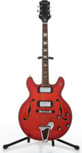 Musical Instruments:Electric Guitars, Modern Epiphone Casino Red Archtop Electric Guitar # N/A....