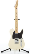 Musical Instruments:Electric Guitars, Recent Squier By Fender Telecaster Blonde Electric Guitar#CN327083....