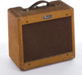 Musical Instruments:Amplifiers, PA, & Effects, 1955 Fender Champ Tweed Amplifier...