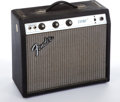 Musical Instruments:Amplifiers, PA, & Effects, Late 1960s-Early 1970s Fender Champ Silver Face Amplifier...
