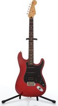 Musical Instruments:Electric Guitars, 1995/96 Fender Stratocaster Red Electric Guitar #MN540424....
