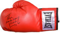 "Boxing Collectibles:Autographs, Hector ""Macho Man"" Camacho Signed Glove...."