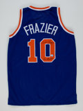 """Basketball Collectibles:Uniforms, Walt Frazier """"50 Greatest"""" Signed Jersey...."""