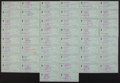 Baseball Collectibles:Others, Bobby Thomson Signed Checks Lot of 50. ...