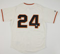 Baseball Collectibles:Uniforms, Willie Mays Signed Jersey. ...