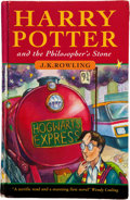 Books:Children's Books, J. K. Rowling. Harry Potter and the Philosopher's Stone.[London]: Bloomsbury, [1997]. First edition, first prin...