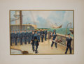 Antiques:Posters & Prints, Four Color Prints Showing Early Styles of U. S. Naval Uniforms fromThe United States Army and Navy. Akron: Wern... (Total: 4Items)
