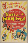 "Movie Posters:Animated, Fun and Fancy Free (RKO, 1947). One Sheet (27"" X 41""). Animated.. ..."