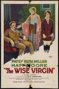 "Movie Posters:Drama, The Wise Virgin (PDC, 1924). One Sheet (26.5"" X 40.5"") Style B. Drama.. ..."
