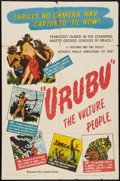 "Movie Posters:Documentary, Urubu (United Artists, 1948). One Sheet (27"" X 41""). Documentary.. ..."