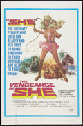 """Movie Posters:Fantasy, The Vengeance of She Lot (20th Century Fox, 1968). One Sheets (2) (27"""" X 41""""). Fantasy.. ... (Total: 2 Items)"""