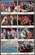 "Movie Posters:Academy Award Winners, Ben-Hur (MGM, R-1969). Lobby Card Set of 8 (11"" X 14""). AcademyAward Winners.. ... (Total: 8 Items)"